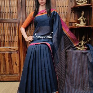 Janani - Jamdani Cotton Saree