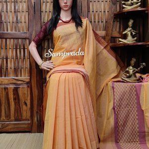 Jasmit - Jamdani Cotton Saree