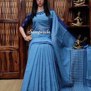 Jayadurga - Jamdani Cotton Saree