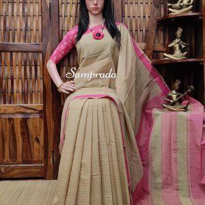 Jayati - Jamdani Cotton Saree