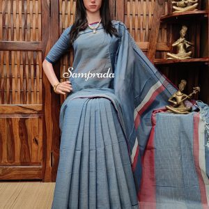 jayavardhini - Jamdani Cotton Saree