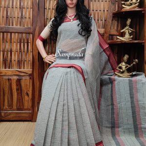 Jebisha - Jamdani Cotton Saree