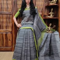 Jeevaa - Jamdani Cotton Saree