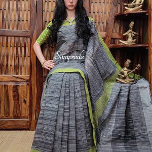 Jeevaa - Jamdani Cotton Saree
