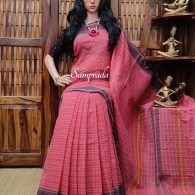 Jigyasa - Jamdani Cotton Saree