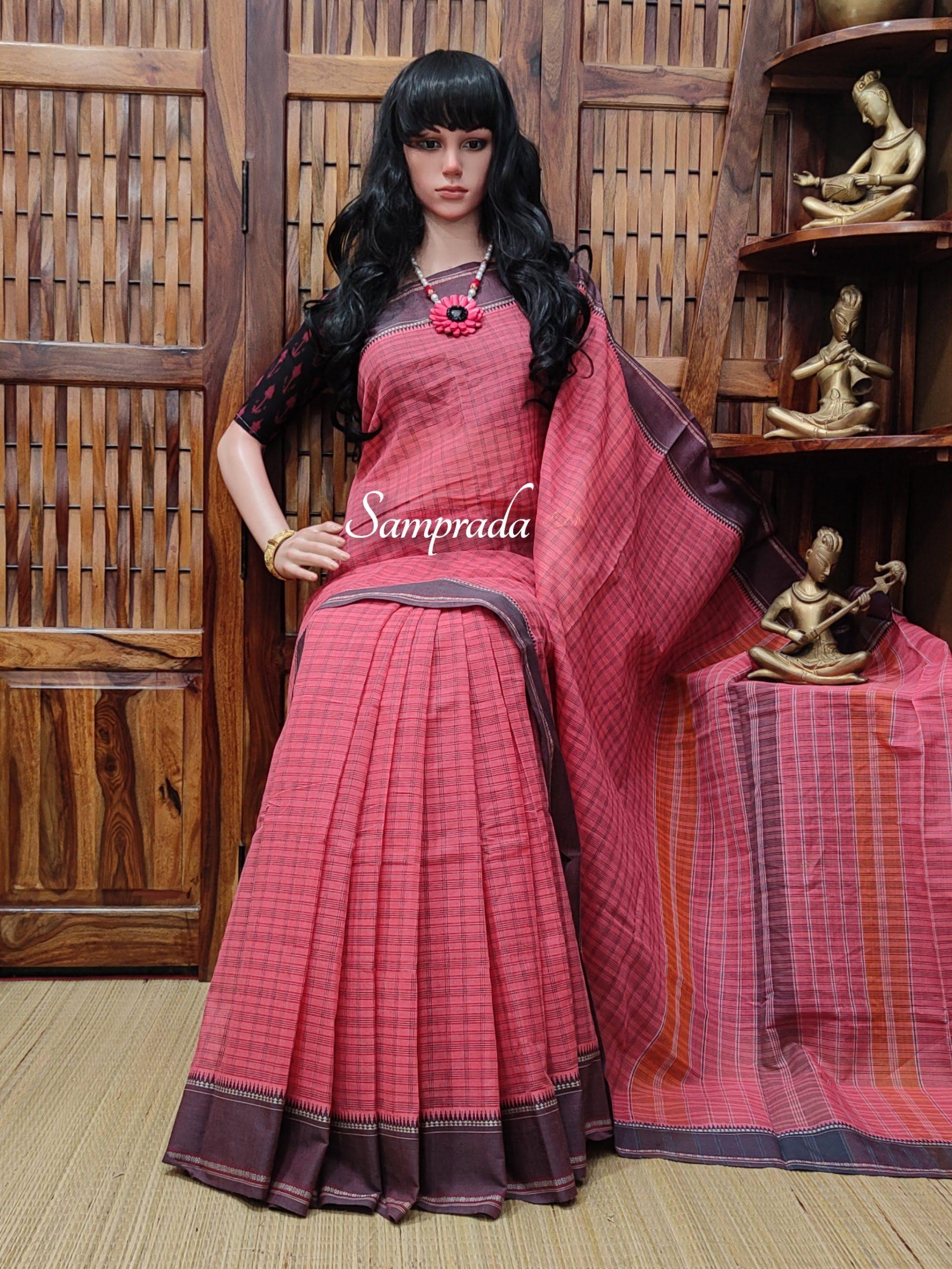 Jigyasa - Jamdani Cotton Saree
