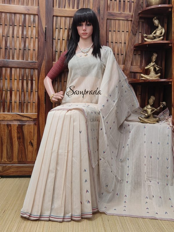 Jyotsni - Jamdani Cotton Saree