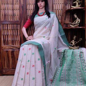 Aanandana - Kanchi Cotton Saree