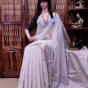 Aandaal - Kanchi Cotton Saree