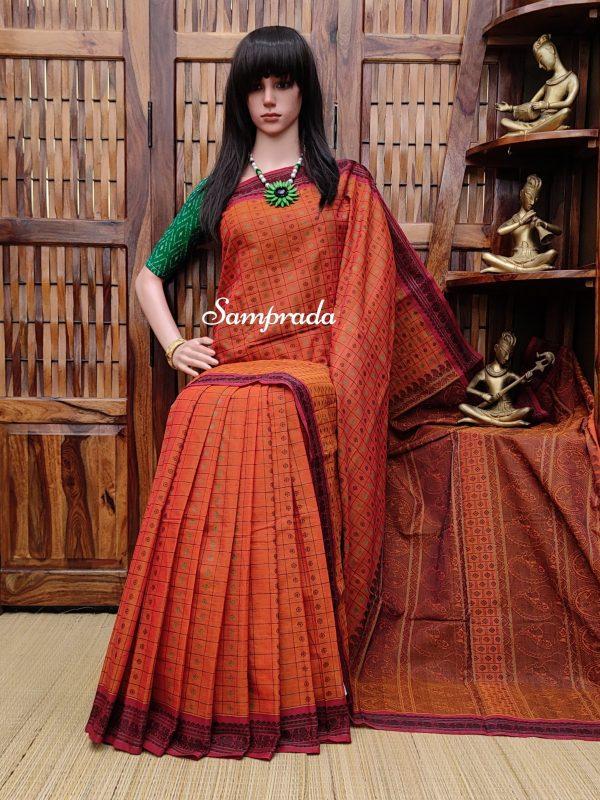 Aaravi - Kanchi Cotton Saree