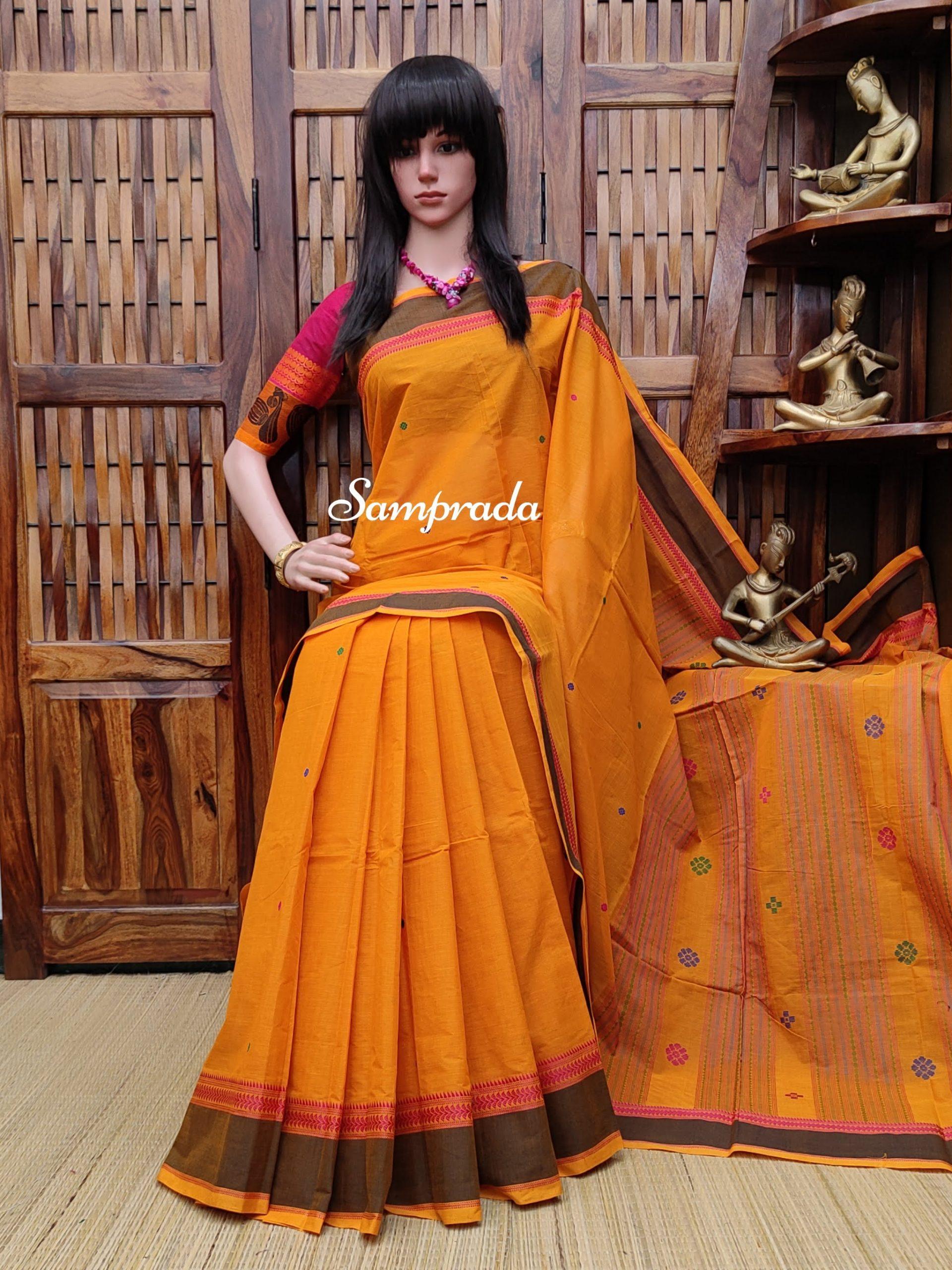 Aashakiran - Kanchi Cotton Saree