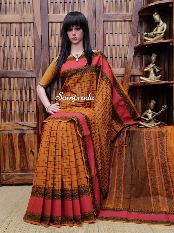 Aathmika - Kanchi Cotton Saree
