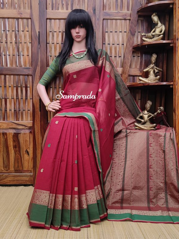 Abhilasha - Kanchi Cotton Saree
