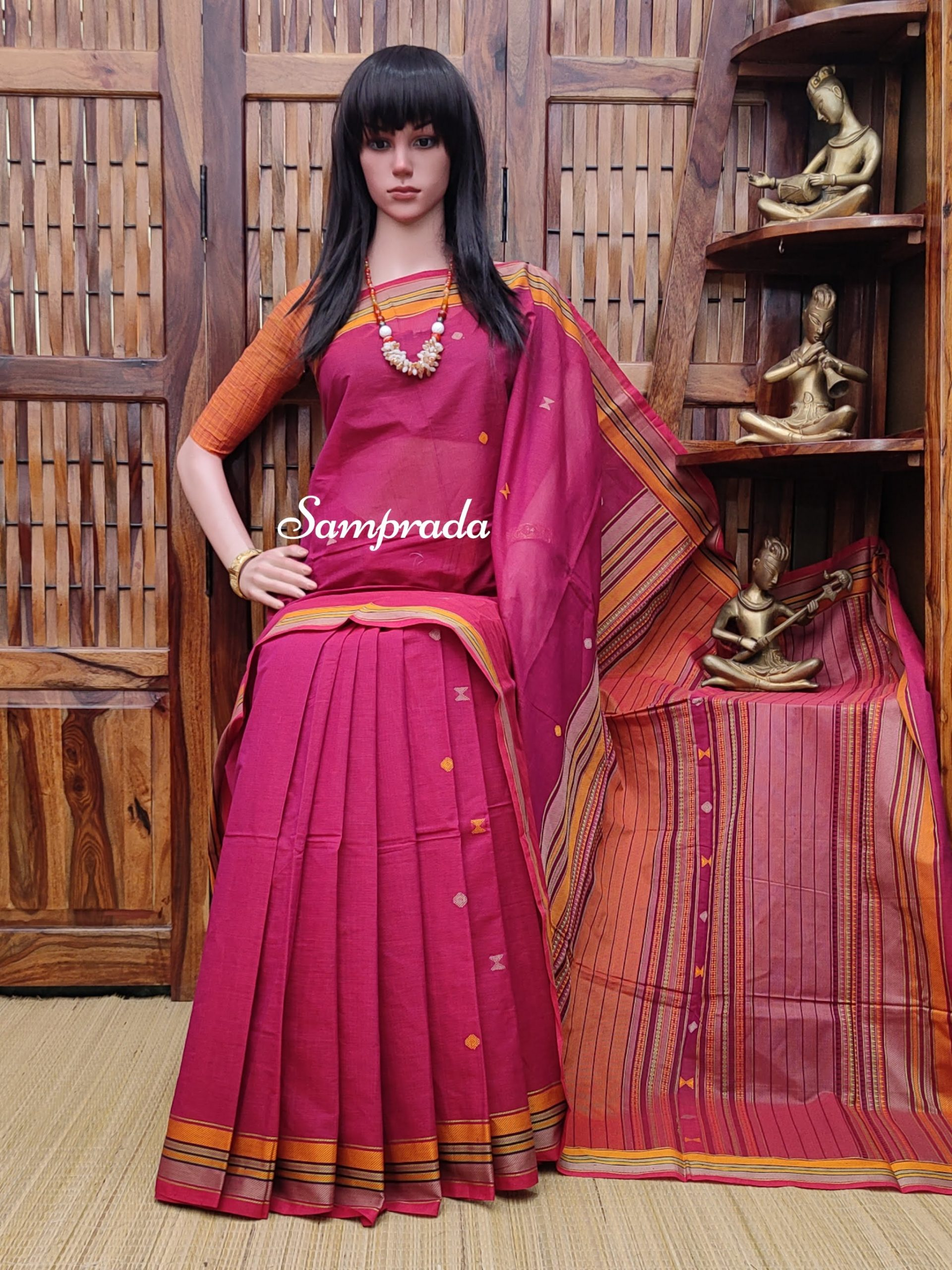 Abhinaya - Kanchi Cotton Saree