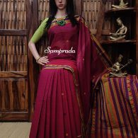 Adhira - Kanchi Cotton Saree