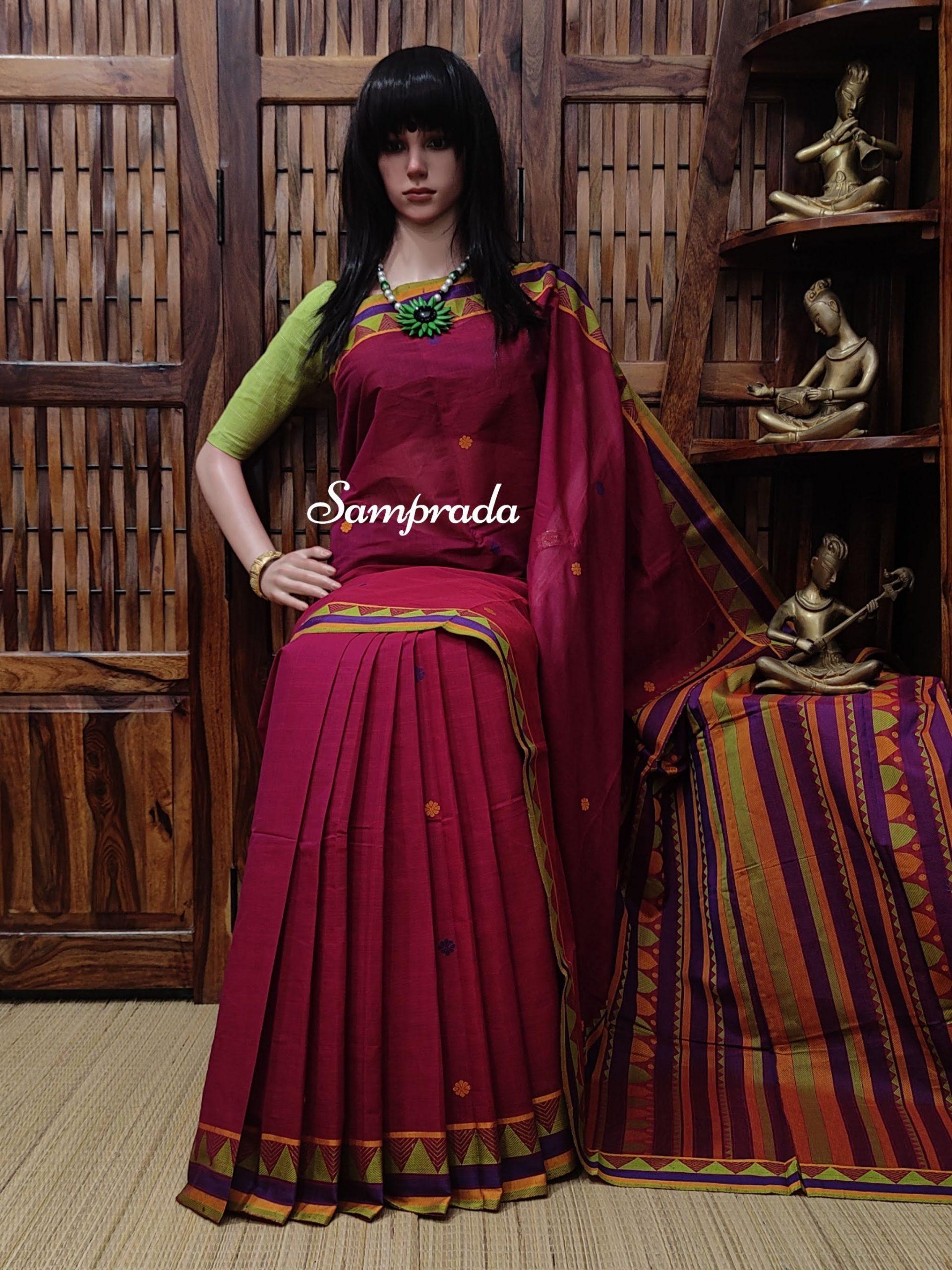 Adhira - Kanchi Cotton Saree