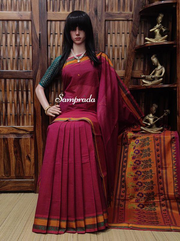 Adwitiya - Kanchi Cotton Saree