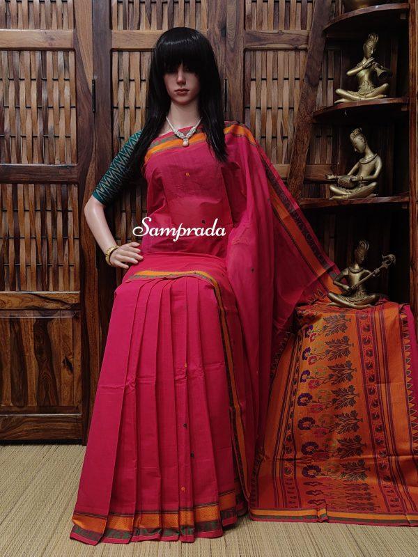 Agnishikha - Kanchi Cotton Saree
