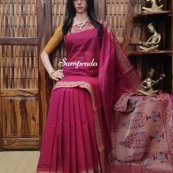 Aishani - Kanchi Cotton Saree