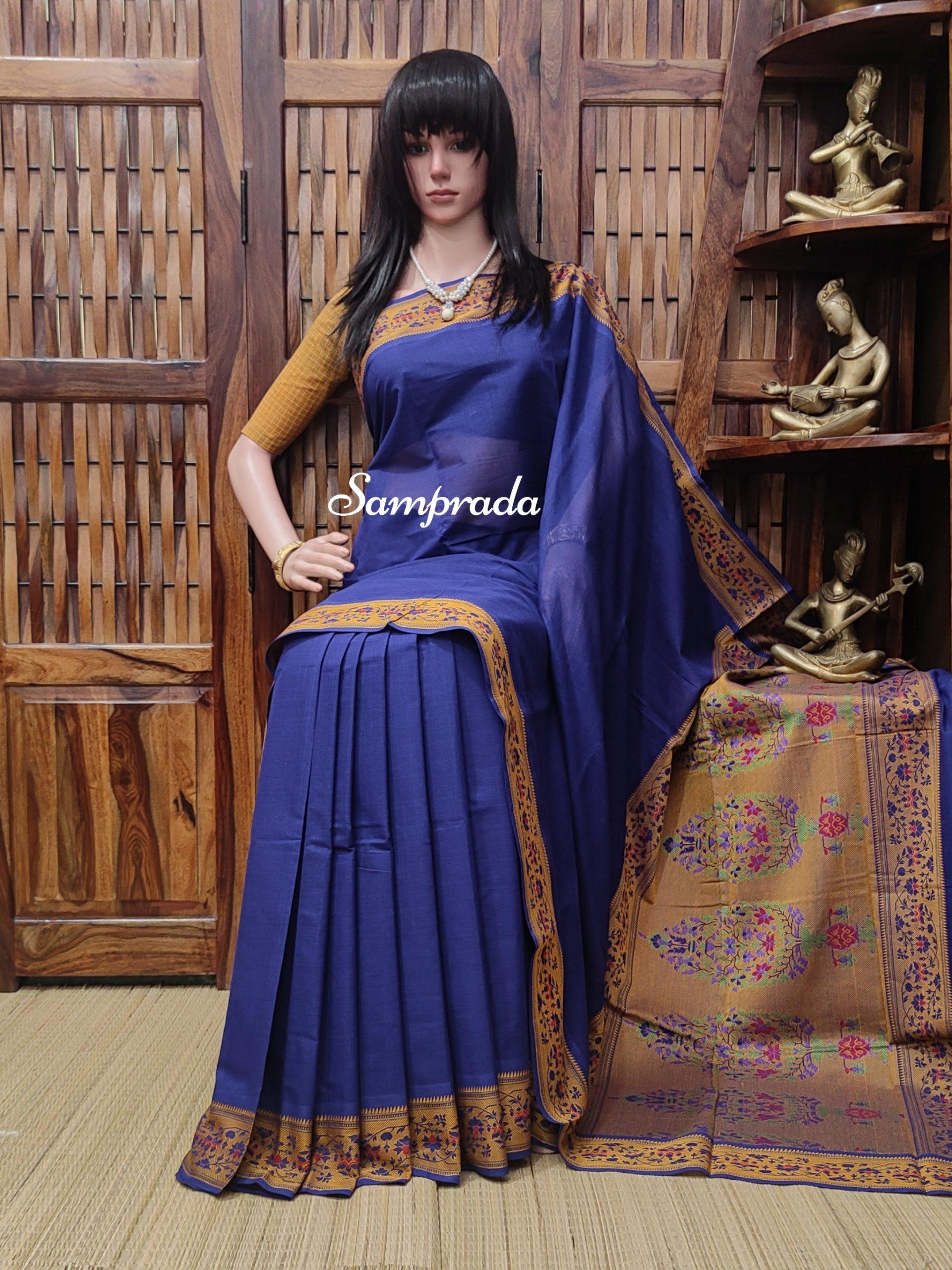 Aishwarya - Kanchi Cotton Saree