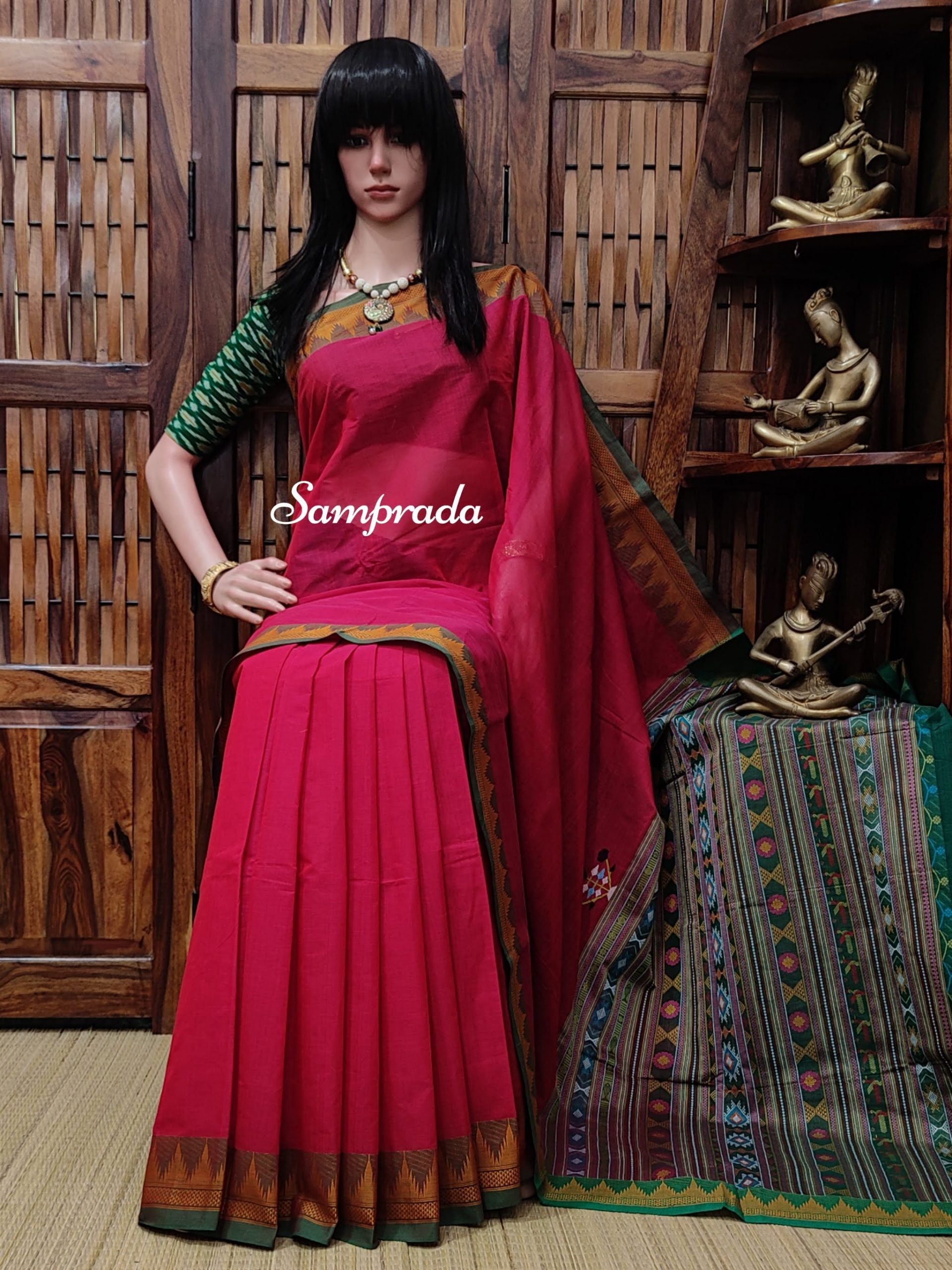 Aisiri - Kanchi Cotton Saree