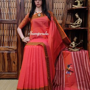 Ajamukhi - Kanchi Cotton Saree