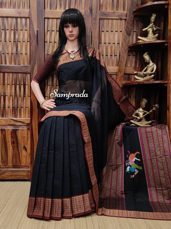 Akangsha - Kanchi Cotton Saree