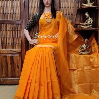 Amaldeepthi - Kanchi Cotton Saree