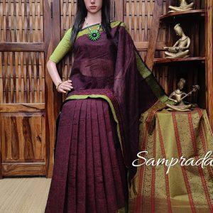 Ambily - Kanchi Cotton Saree