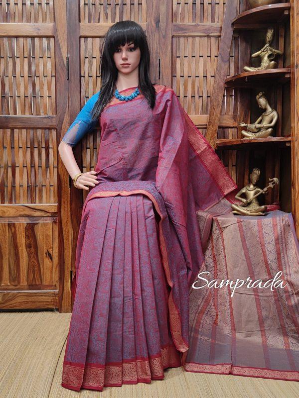 Ambudhara - Kanchi Cotton Saree