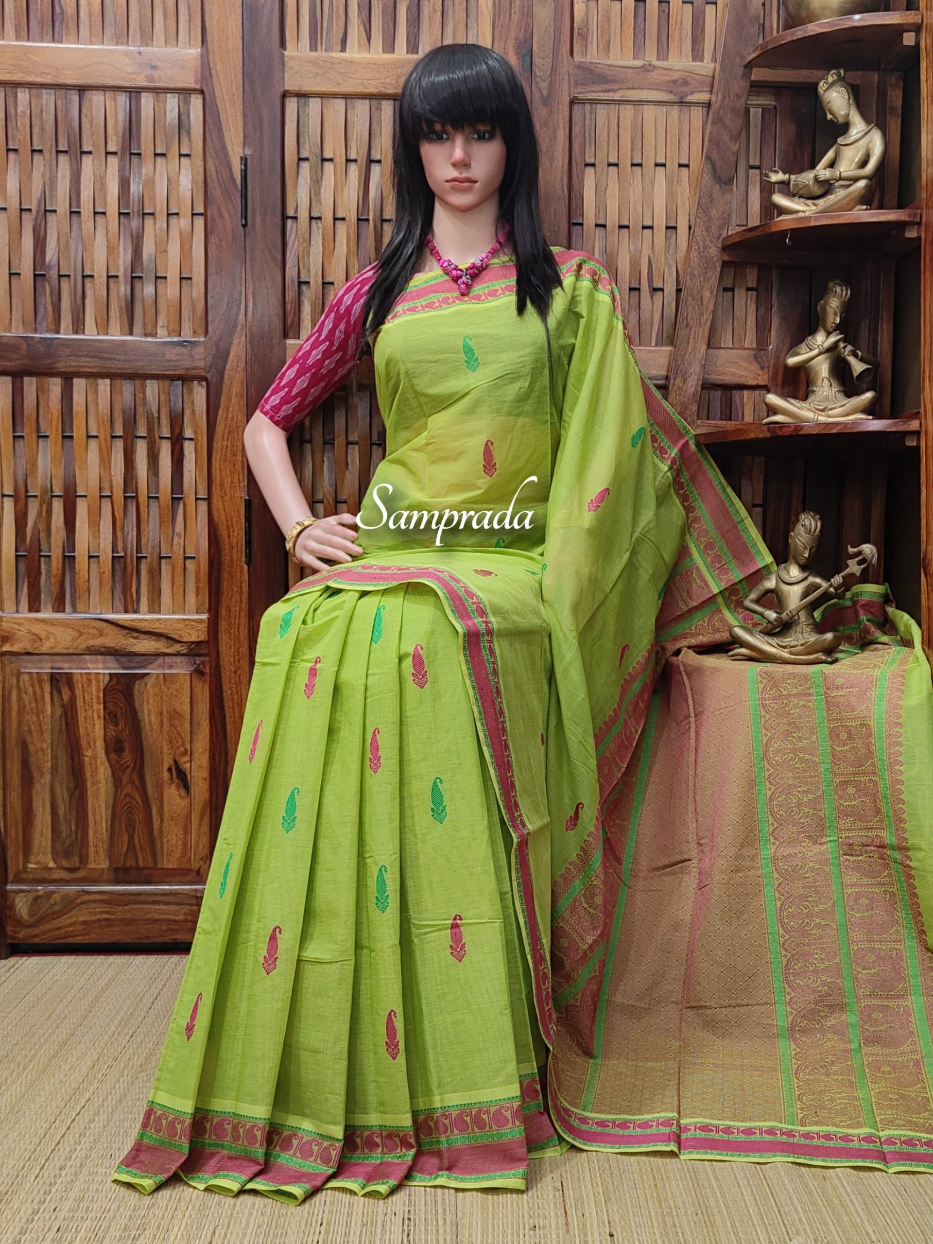 Amolika - Kanchi Cotton Saree