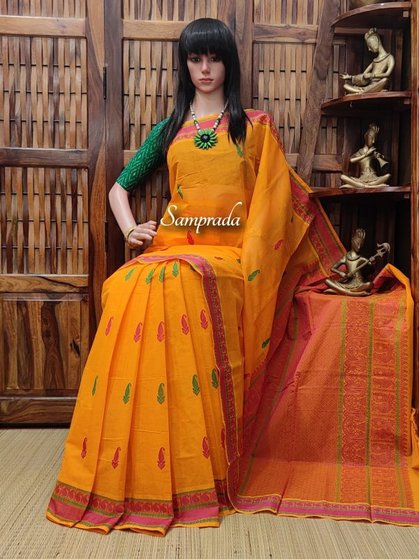 Amrithavahini - Kanchi Cotton Saree