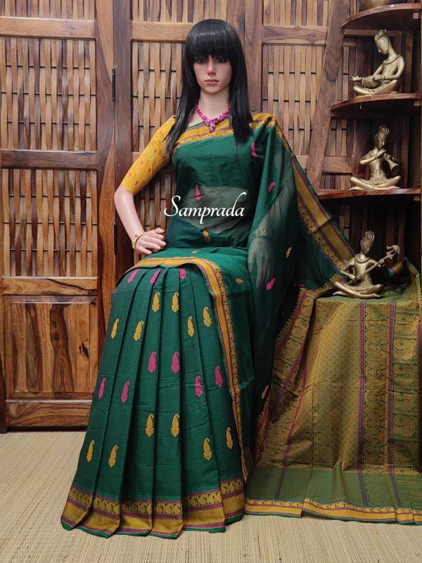 Amrutha - Kanchi Cotton Saree