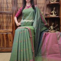 Anashwara - Kanchi Cotton Saree