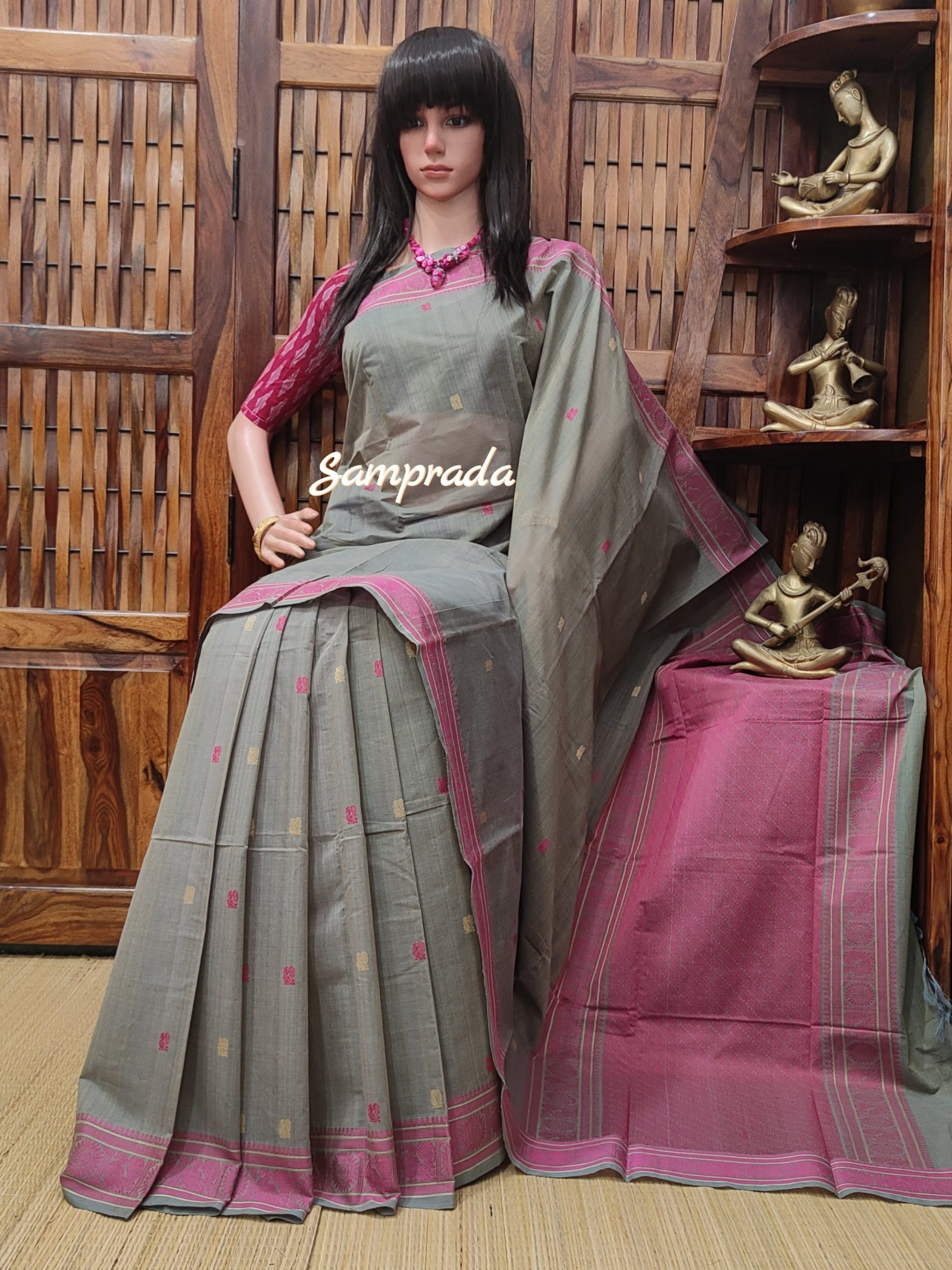 Anindini - Kanchi Cotton Saree