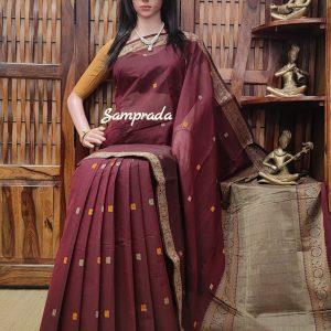 Anjasi - Kanchi Cotton Saree