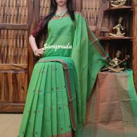 Anjusha - Kanchi Cotton Saree