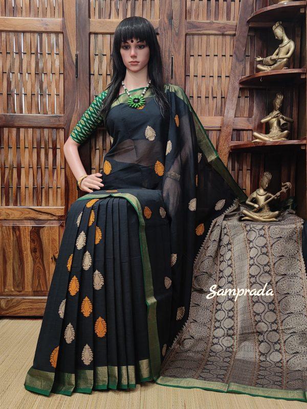 Anshumati - Kanchi Cotton Saree