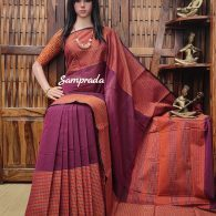 Anudarshana - Kanchi Cotton Saree