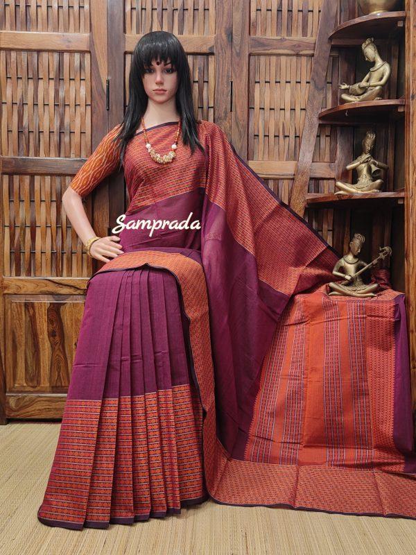Anudarshana - Kanchi Cotton Saree
