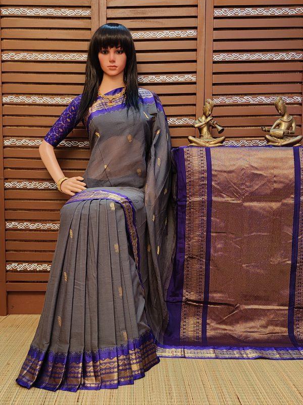 Kalindi - Kuppadam Cotton Saree