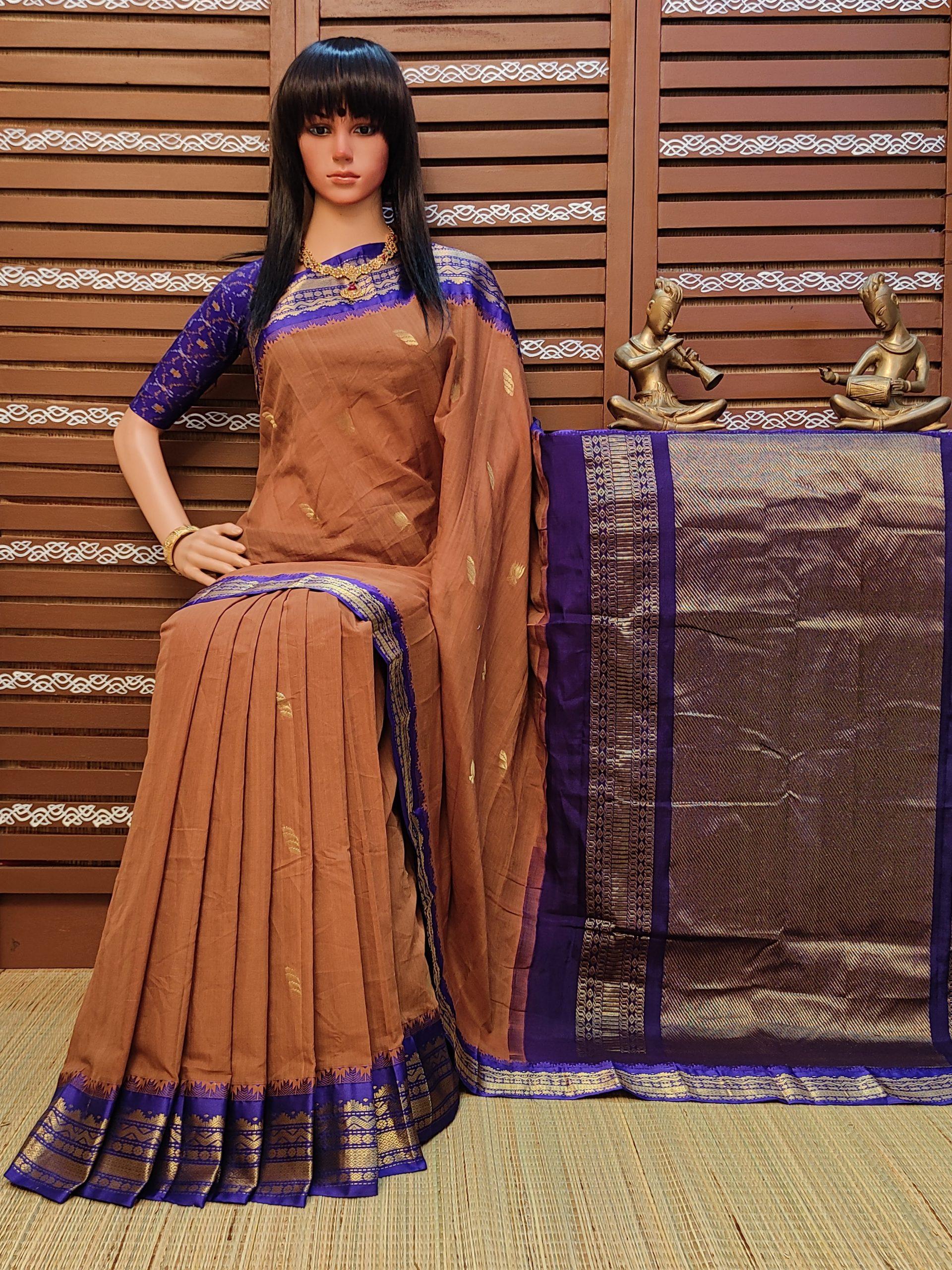 Kalpitha - Kuppadam Cotton Saree