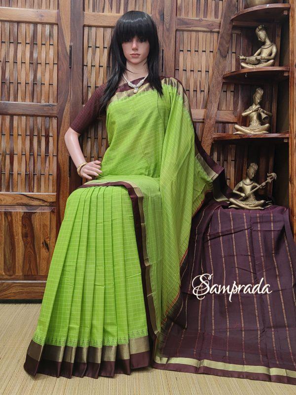 Kamalika - Kuppadam Cotton Saree