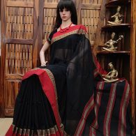Maalya - Mercerized Pearl Cotton Saree