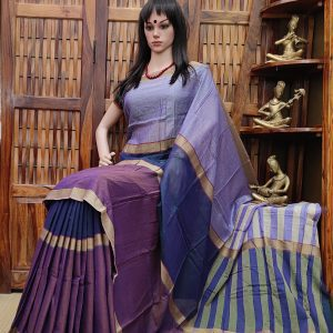Maangali - Mercerized Pearl Cotton Saree