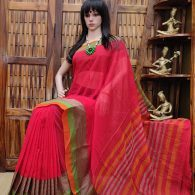 Maargi - Mercerized Pearl Cotton Saree