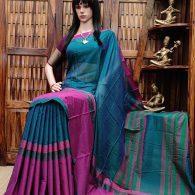 Madushree - Mercerized Pearl Cotton Saree