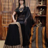 Mahabhadra - Mercerized Pearl Cotton Saree