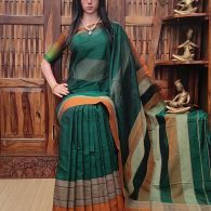 Maheshani - Mercerized Pearl Cotton Saree