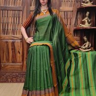 Maithri - Mercerized Pearl Cotton Saree
